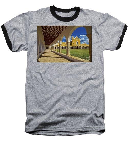 The Yellow City Of Izamal, Mexico Baseball T-Shirt