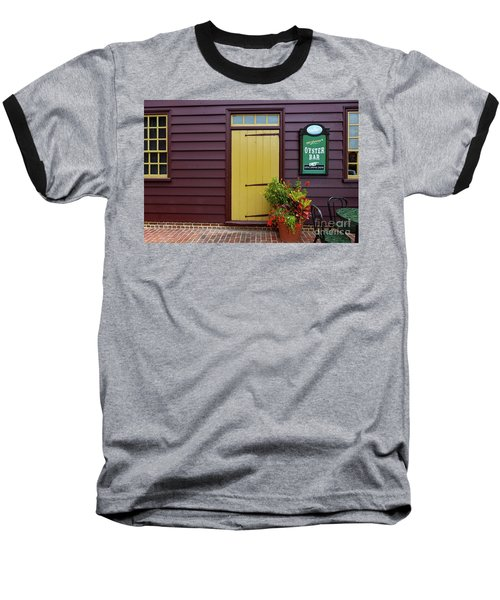The Yellow Door In Annapolis Baseball T-Shirt