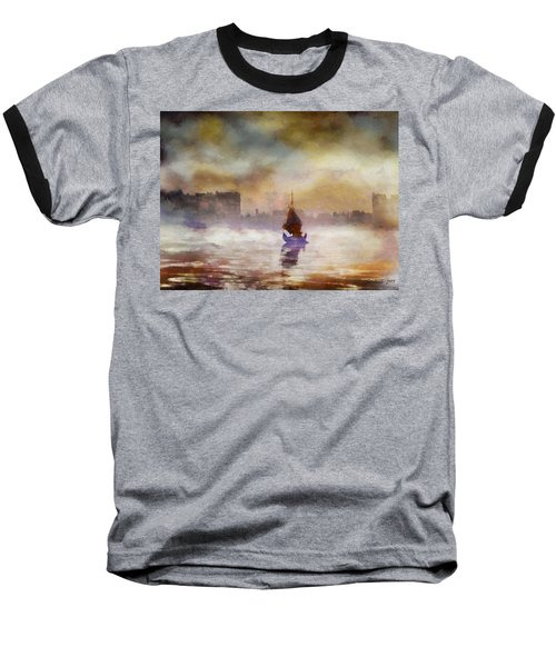 The Yellow Sunrise Baseball T-Shirt