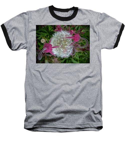 The Yin And The Yang Baseball T-Shirt by Tim Good