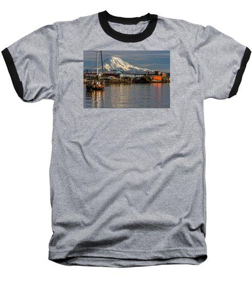 Thea Foss Waterway And Rainier 1 Baseball T-Shirt