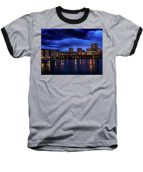Thea Foss Waterway Storm Brewing Baseball T-Shirt
