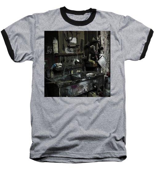 Theater-werkstatt.  #werkstatt Baseball T-Shirt