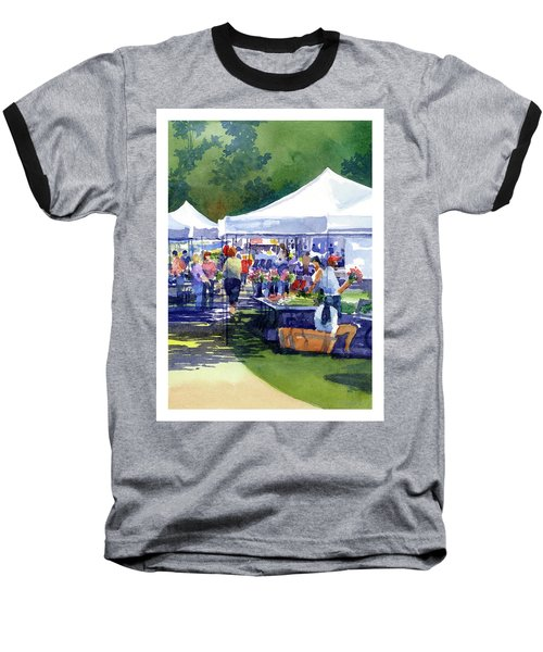 Theinsville Farmers Market Baseball T-Shirt