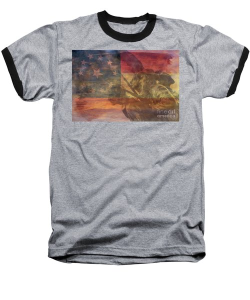 Their Final Charge At Gettysburg Baseball T-Shirt