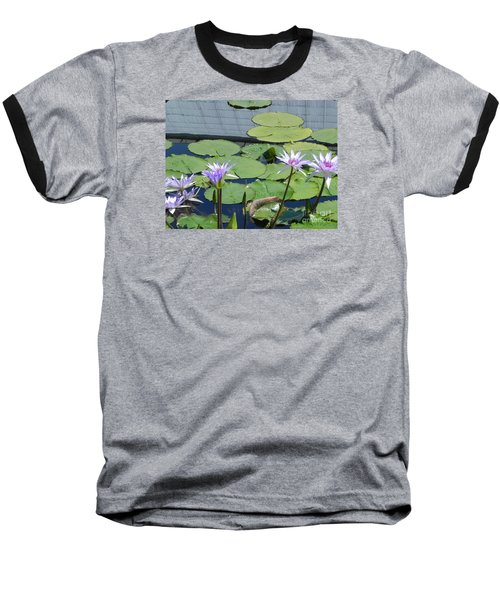 Baseball T-Shirt featuring the photograph Their Own Kaleidoscope Of Color by Chrisann Ellis