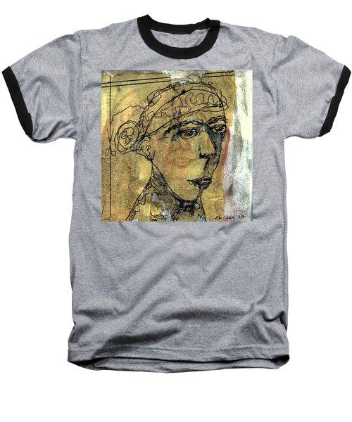 Thelma Baseball T-Shirt by A K Dayton