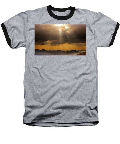 Baseball T-Shirt featuring the photograph Then Sings My Soul by Karen Wiles