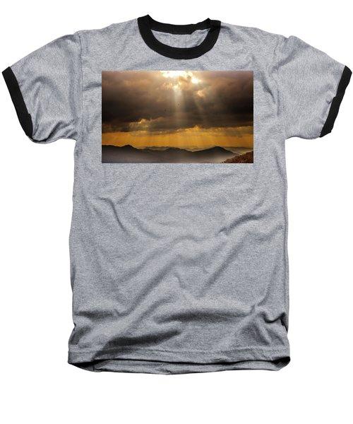 Then Sings My Soul Baseball T-Shirt by Karen Wiles