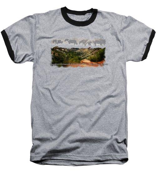 Theodore Roosevelt National Park Baseball T-Shirt