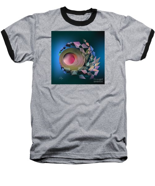 Baseball T-Shirt featuring the digital art Theory Of Joke by Leo Symon