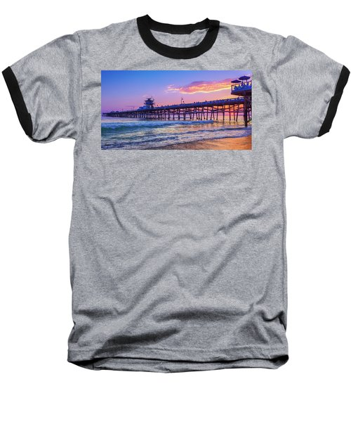 There Will Be Another One - San Clemente Pier Sunset Baseball T-Shirt