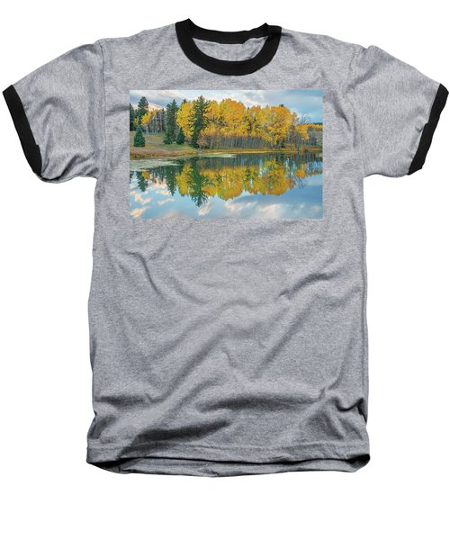 There's A Belvedere By This Pond.  Baseball T-Shirt