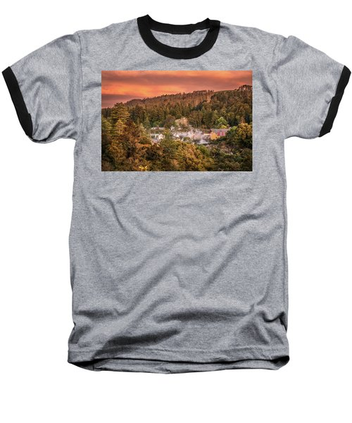 Thermal Village Rotorua Baseball T-Shirt
