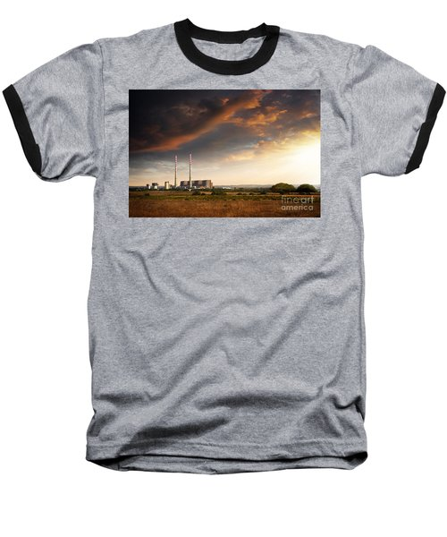 Thermoelectrical Plant Baseball T-Shirt