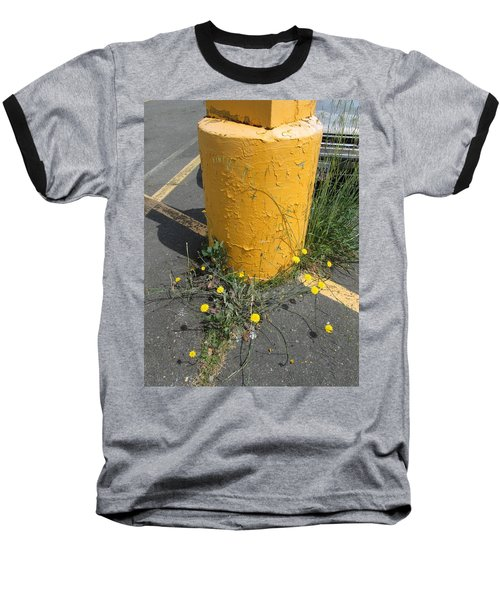 Baseball T-Shirt featuring the photograph They Are Still        Here by Marie Neder