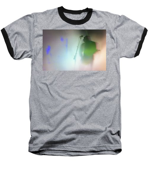 Baseball T-Shirt featuring the photograph They Came Bearing Guitars by Alex Lapidus