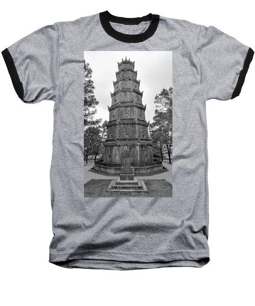 Thien Mu Pagoda Baseball T-Shirt