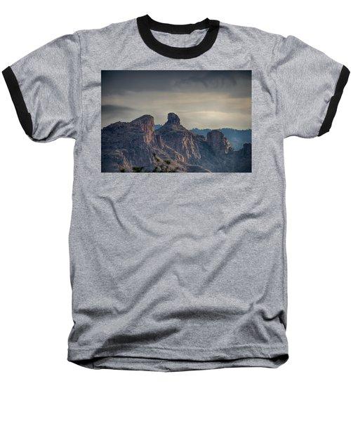 Baseball T-Shirt featuring the photograph Thimble Peak Sunrise by Dan McManus