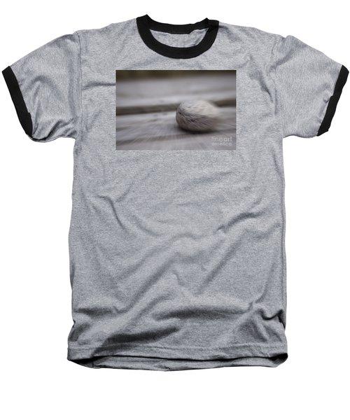 Simplicity In Grey Baseball T-Shirt by Jill Smith