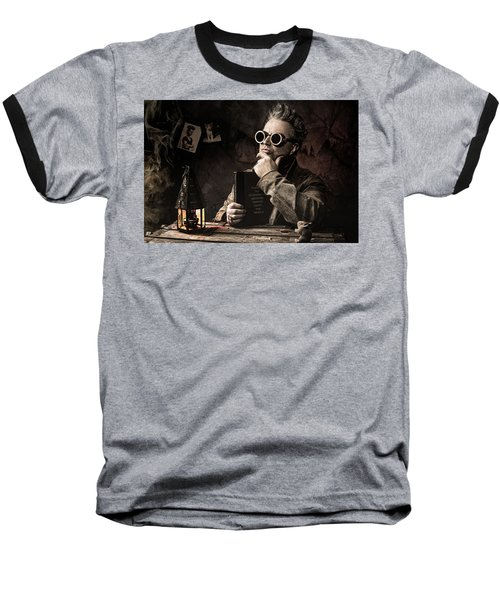 Things To Consider - Steampunk - World Domination Baseball T-Shirt