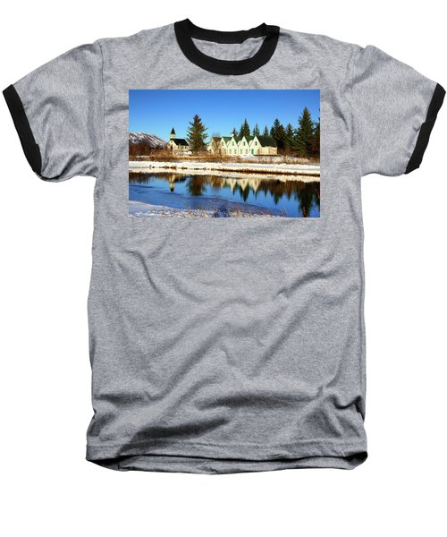 Baseball T-Shirt featuring the photograph Thingvellir Iceland  by Matthias Hauser