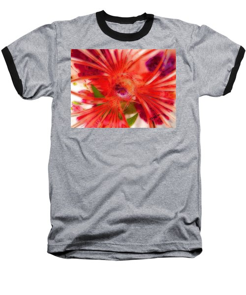Think Outside The Vase #8801_1 Baseball T-Shirt by Barbara Tristan