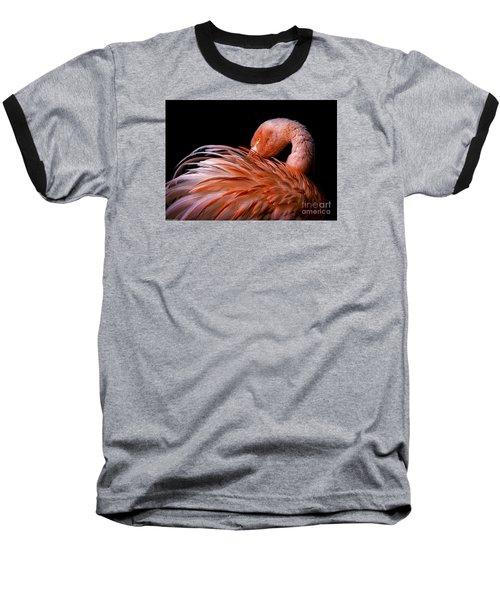 Think Pink Baseball T-Shirt by Mitch Shindelbower