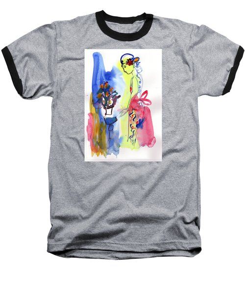 Thinking Of Tonight Baseball T-Shirt