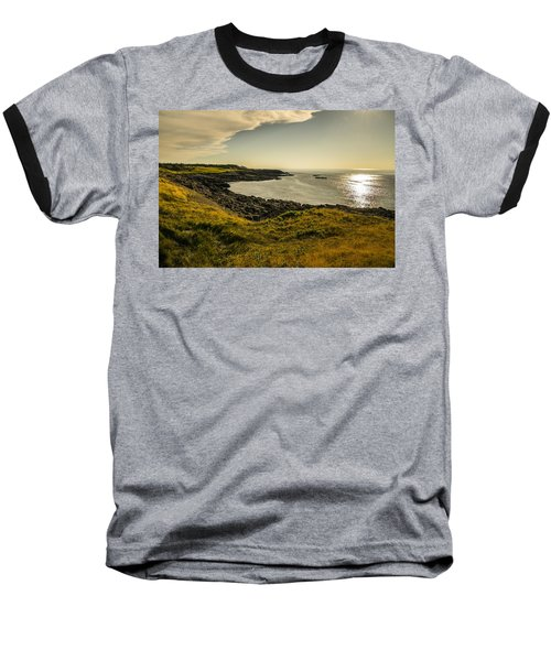 Thinking Sunset Baseball T-Shirt by Will Burlingham