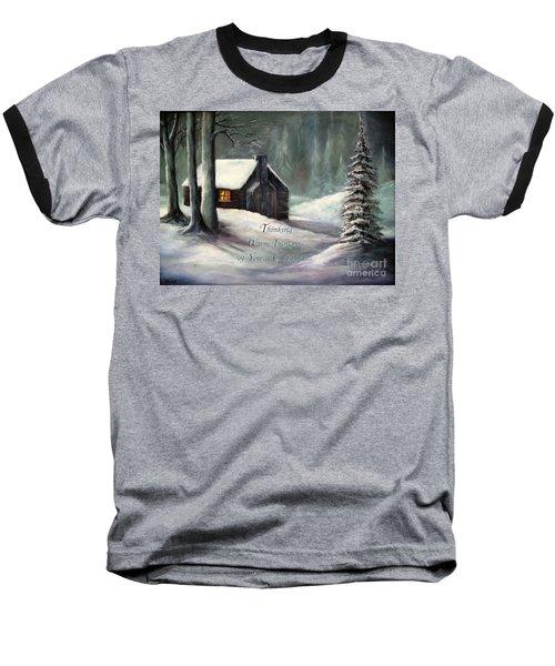 Thinking Warm Thoughts Of You Baseball T-Shirt