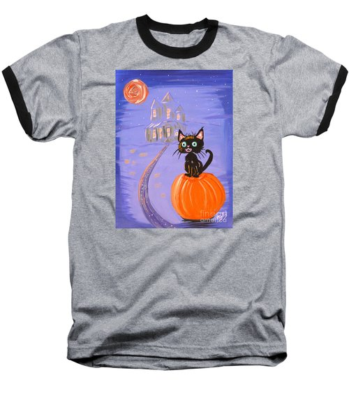 Things I Like Best At Halloween Baseball T-Shirt