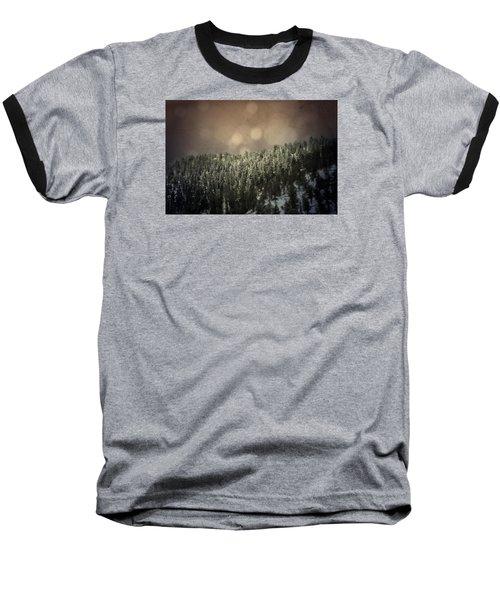 Third Breath  Baseball T-Shirt by Mark Ross