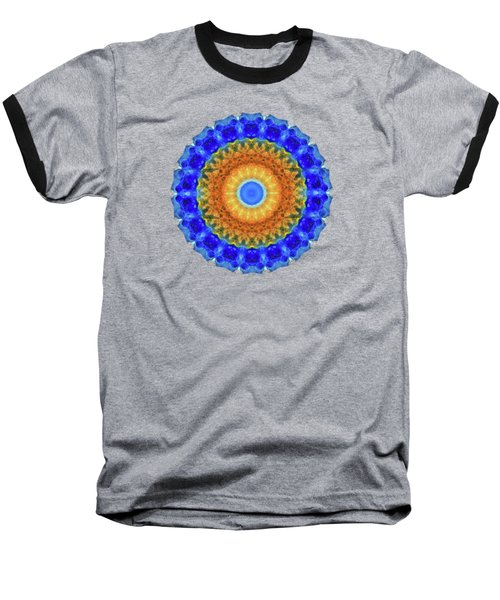 Third Eye Mandala Art By Sharon Cummings Baseball T-Shirt