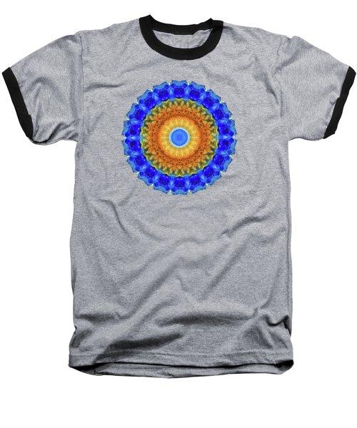 Third Eye Mandala Art By Sharon Cummings Baseball T-Shirt
