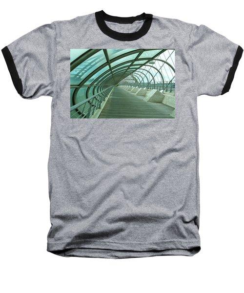 Third Millenium Bridge, Zaragoza, Spain Baseball T-Shirt by Tamara Sushko