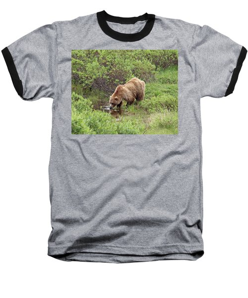Thirsty Grizzly Baseball T-Shirt