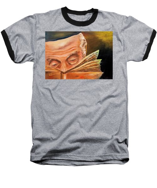 This Book Of The Law Shall Not Depart Out Of Thy Mouth Baseball T-Shirt by Itzhak Richter