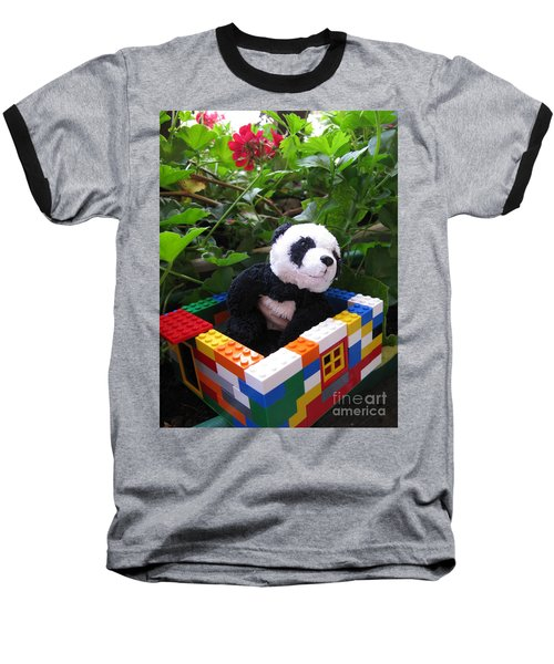 Baseball T-Shirt featuring the photograph This House Is Too Small For Me by Ausra Huntington nee Paulauskaite