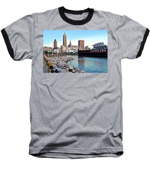 This Is Cleveland Baseball T-Shirt by Frozen in Time Fine Art Photography