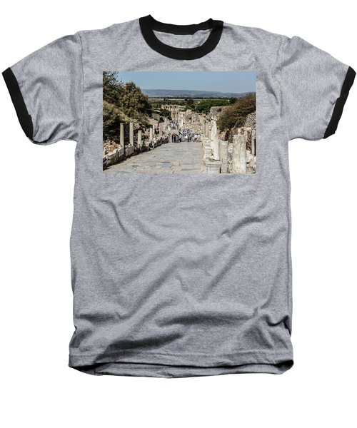 This Is Ephesus Baseball T-Shirt by Kathy McClure
