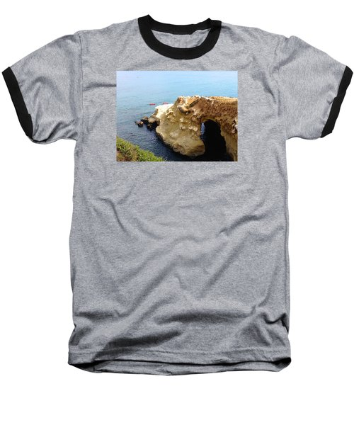 This Is La Jolla Baseball T-Shirt by Beth Saffer