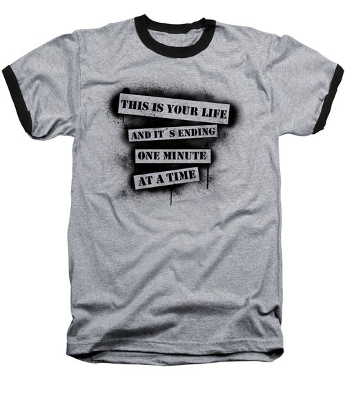This Is Your Life - Fight Club Baseball T-Shirt