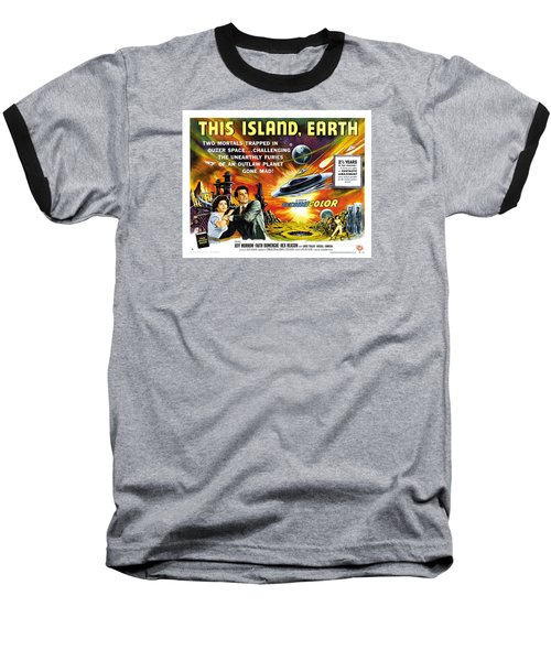 This Island Earth Science Fiction Classic Movie Baseball T-Shirt