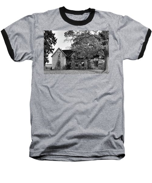This Old House 2 Baseball T-Shirt by Gary Hall