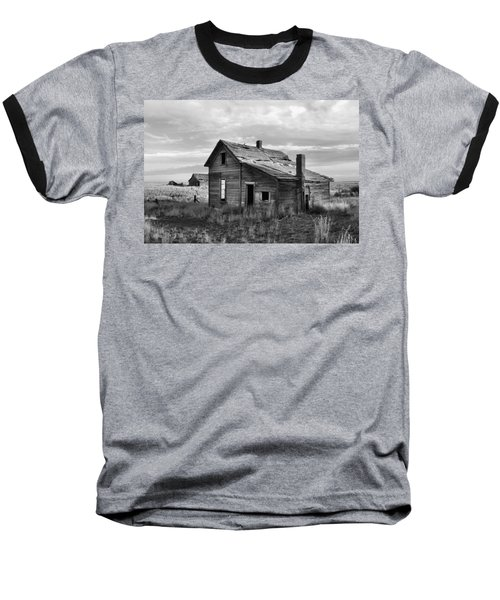 This Old House Baseball T-Shirt by Jim Walls PhotoArtist