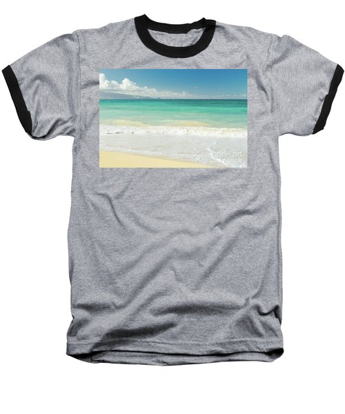 Baseball T-Shirt featuring the photograph This Paradise Life by Sharon Mau