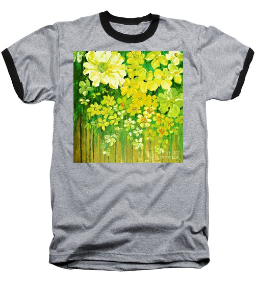 This Summer Fields Of Flowers Baseball T-Shirt