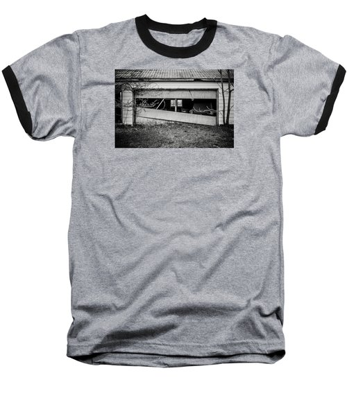 This Was Once The Perfect Hideout Baseball T-Shirt by Off The Beaten Path Photography - Andrew Alexander