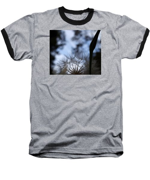 Thistle At Dusk Baseball T-Shirt